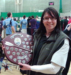Achievements - Regional and County Longbow champion Liz Bowyer
