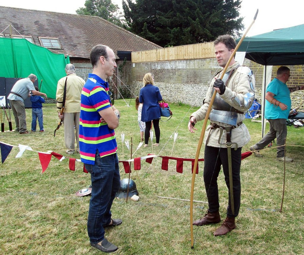 try archery medieval style!