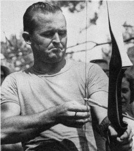 Barebow archer