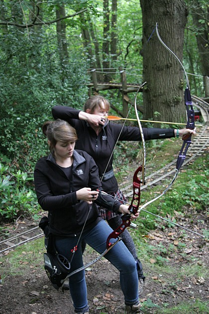 traditional bowstyle archers