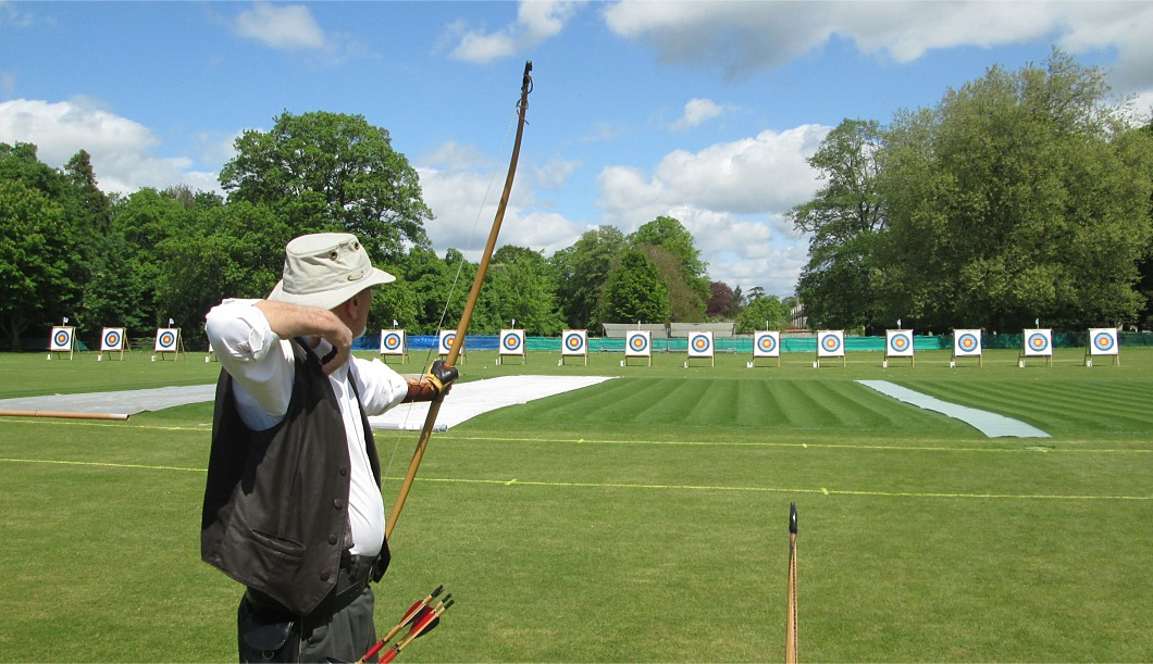 English Longbow shooting distances