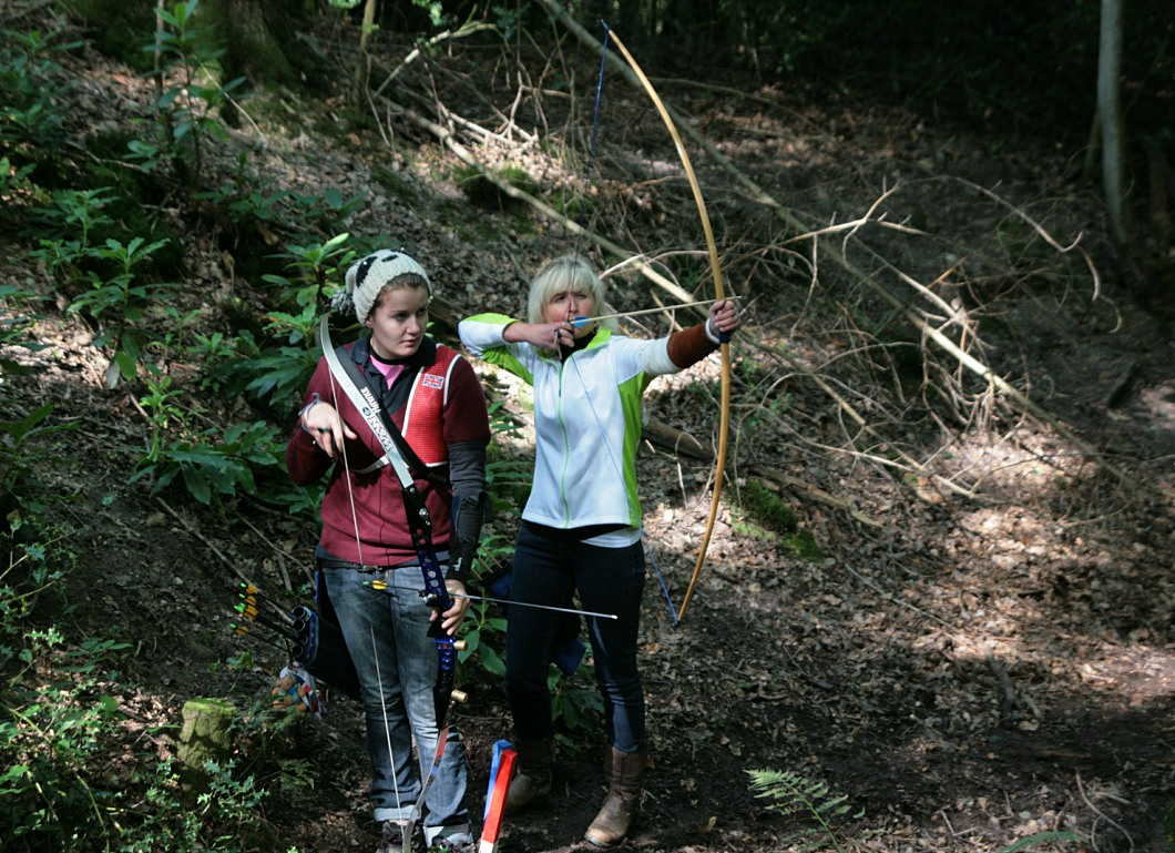 english longbow at a field shoot